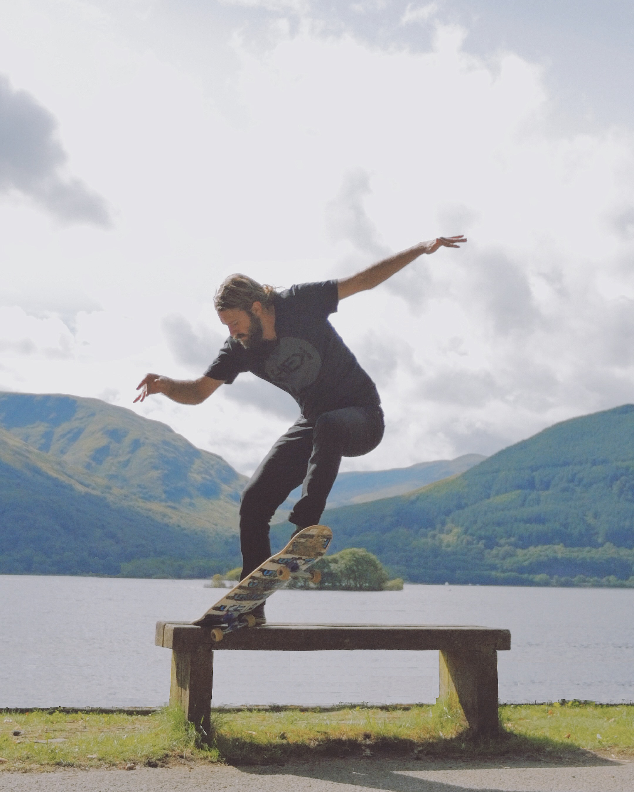 crook crooked grind loch lomond scotland mountains nature
